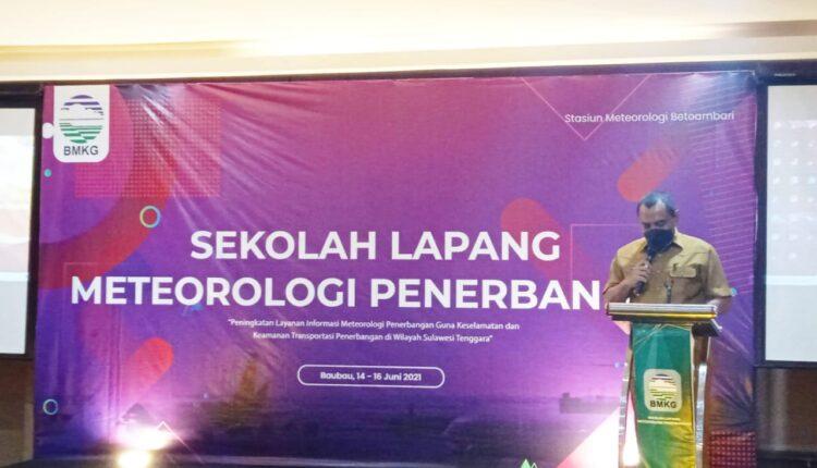 Wakil Walikota Buka Kegiatan Sekolah Lapang Meteorologi